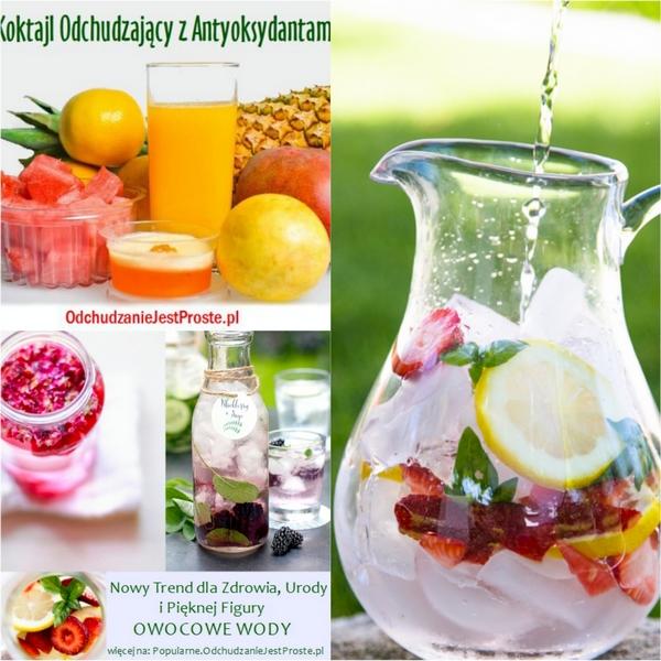 popularne.odchudzaniejestproste.pl-domowe-sposoby-na-zdrowie-odchudzanie-owocowe-wody-antyoksydanty-truskawki-cytryna